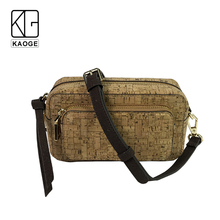 KAOGE Luxury Vegan belt bag cork mini waist bag women fashion fanny pack Handmade wood female waist bag 2019 цена