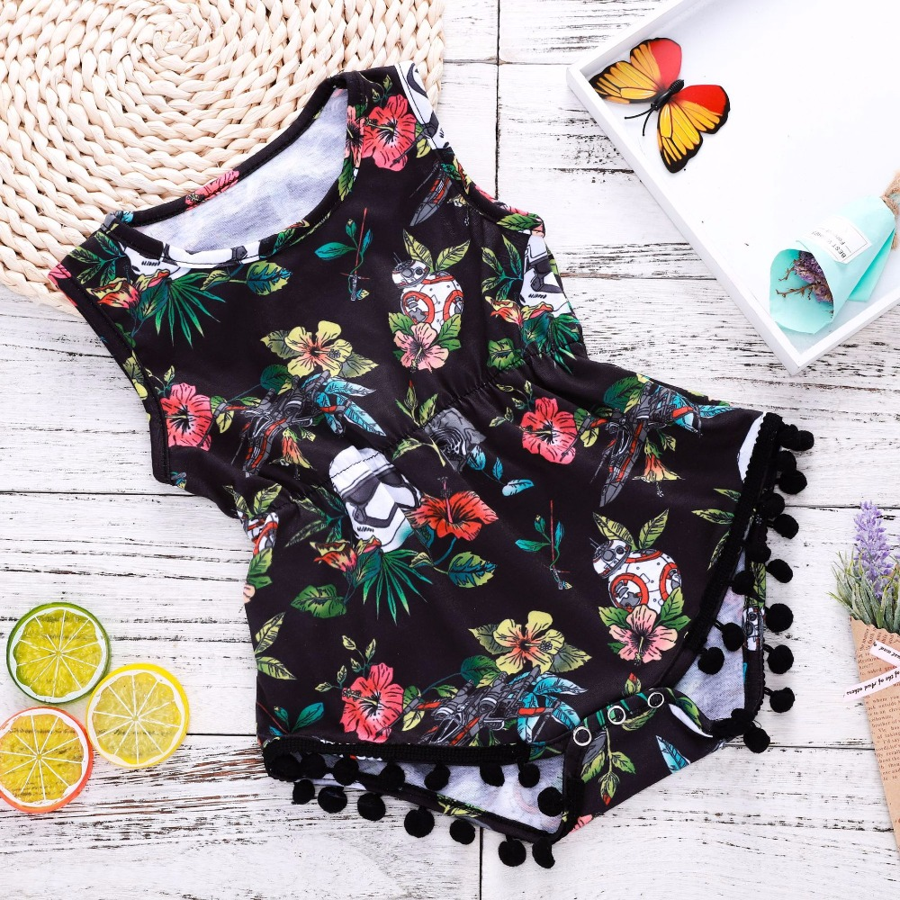 Hot Sale Tiny Cottons Baby Girl Clothes Baby Romper Infant Newborn Clothes Funny Baby Onesie Infant Girl Summer Clothes Floral