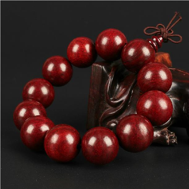 A wood - red wood bracelets like lobular Rosewood agate bracelet Jewelry by men and women couples
