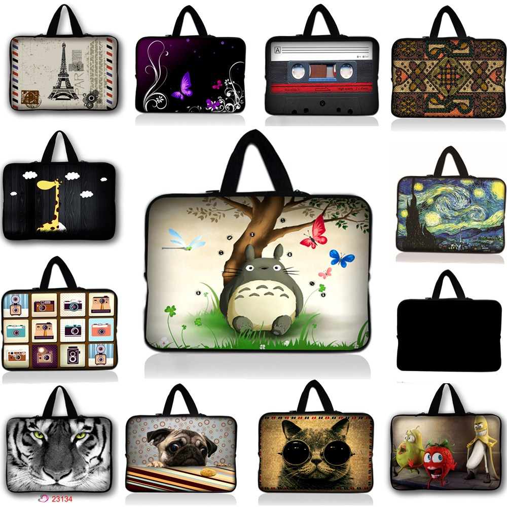 For Samsung Galaxy Tab 4 3 7.0 8.0 Universal 7 Soft Neoprene Tablet PC Case Bag Pouch Handle tablet Sleeve For ipad mini 4 3 2 print batman laptop sleeve 7 9 tablet case 7 soft shockproof tablet cover notebook bag for ipad mini 4 case tb 23156