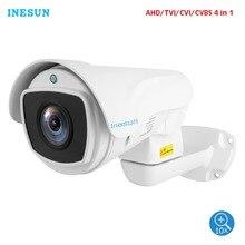 Inesun 5MP (2688x1944) super HD AHD PTZ CCTV Kamera 10X Optische Zoom Outdoor Video Überwachung Sicherheit Kamera 330ft Laser IR