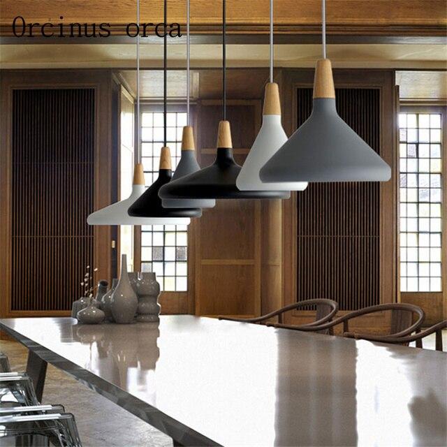 Nordic Chandelier Busana Restaurant Lampu Samping Tempat Tidur Dapur A Jepang Minimalis Kreatif