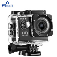 Winait 720p sports camera A7 waterproof 30 meters with 2.0 TFT display free shipping