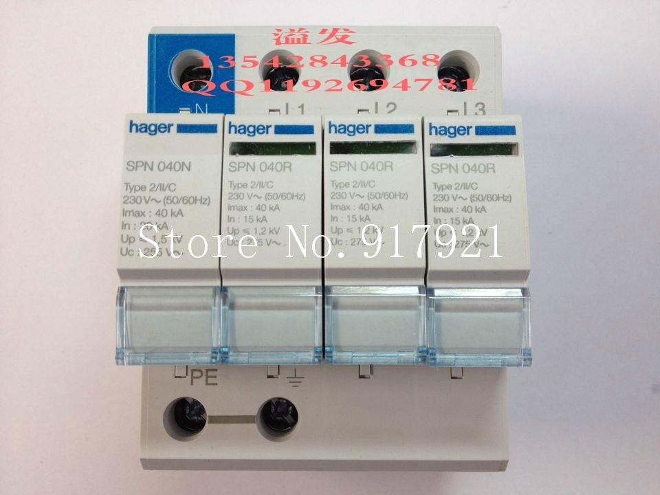 [ZOB] Хагрид SPN440R устройство защиты от перенапряжений 4 40KA T2 высокого качества импортированных 3 P + N грозового перенапряжения