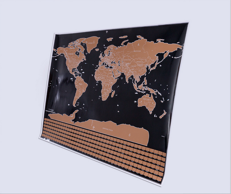 World map gray cylindrical scratch map flag travel map united states world map gray cylindrical scratch map flag travel map united states canada boundary line in wall stickers from home garden on aliexpress alibaba gumiabroncs Images