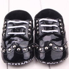 2017 Summer Style Toddler Baby Girls Black Bling Sequin Shoes Bowknot Walking Crib Shoes Hot Selling(China)