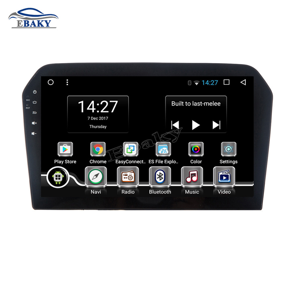 Discount NaviTopia 9inch Octa Core Android 7.1 8.1 Car DVD GPS Navigation for VW JETTA 2013 2014 2015 2016 Auto Multimedia Radio Stereo 1
