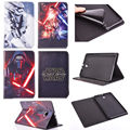 Flip Stand Star Wars Leather Cover Back Soft Case For Samsung Galaxy Tab 4 7.0 T230 T231 T235 Tablet PC