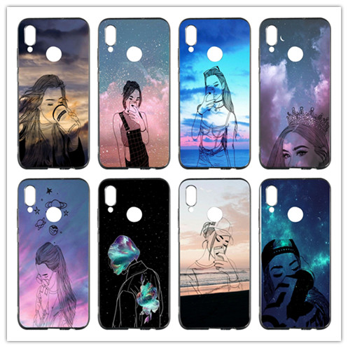 Cellphones & Telecommunications Phone Bags & Cases Clever Girl Lockscreen Soft Tpu Mobile Phone Case Cover For Huawei P Smart Honor 4c 5c 6a 6x 7x 8x 9 Lite V8 V9 Play V10 Shell Limpid In Sight