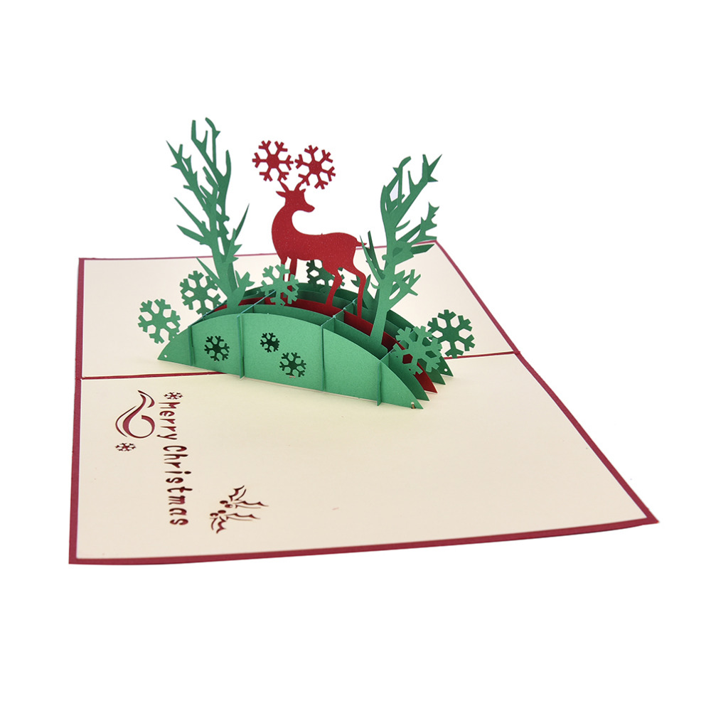 hot d de accin de gracias navidad vintage plegable tarjeta de felicitacin gracias popup
