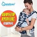 Imama Marca Frente Virada Baby Carrier Sling Backpack Bolsa Para Bebê Infantil Transportadora Confortável Bebê Recém-nascido