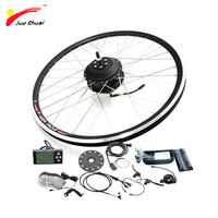 Electric Bike Conversion kit with 36v Rear Hub Motor Bicycle Ebike Kit for 20 26 700C Brushless Grear Wheel for Electric Bike