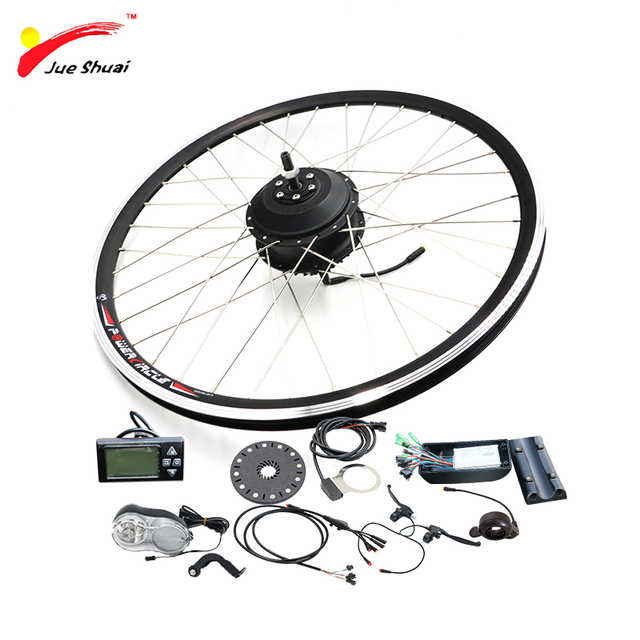 Electric Bike Conversion Kit With 36v Rear Hub Motor Bicycle Ebike