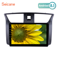 Seicane GPS Navi head unit for 2012 2016 Nissan Sylphy Radio USB Bluetooth Support WIFI 10.1 inch Android 8.1 HD Touchscreen