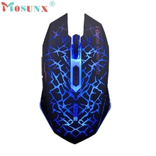Beautiful Gift 100% Brand New 2.4GHz Wireless 7D Rechargeable 2400DPI 6 Buttons Optical Usb Gaming Mouse Wholesale price Jan05