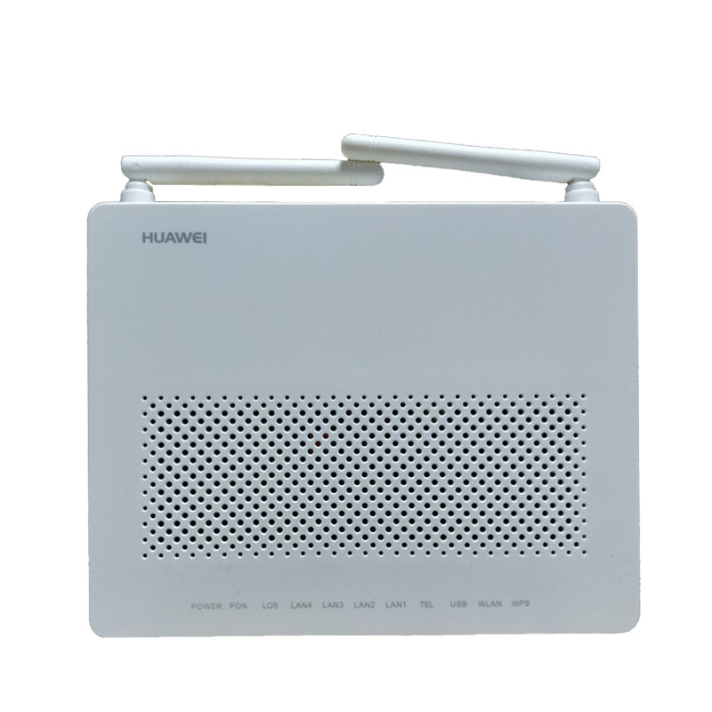Usado huawei gpon onu hg8546m ont termianl com 1ge + 3fe voz + wifi software inglês
