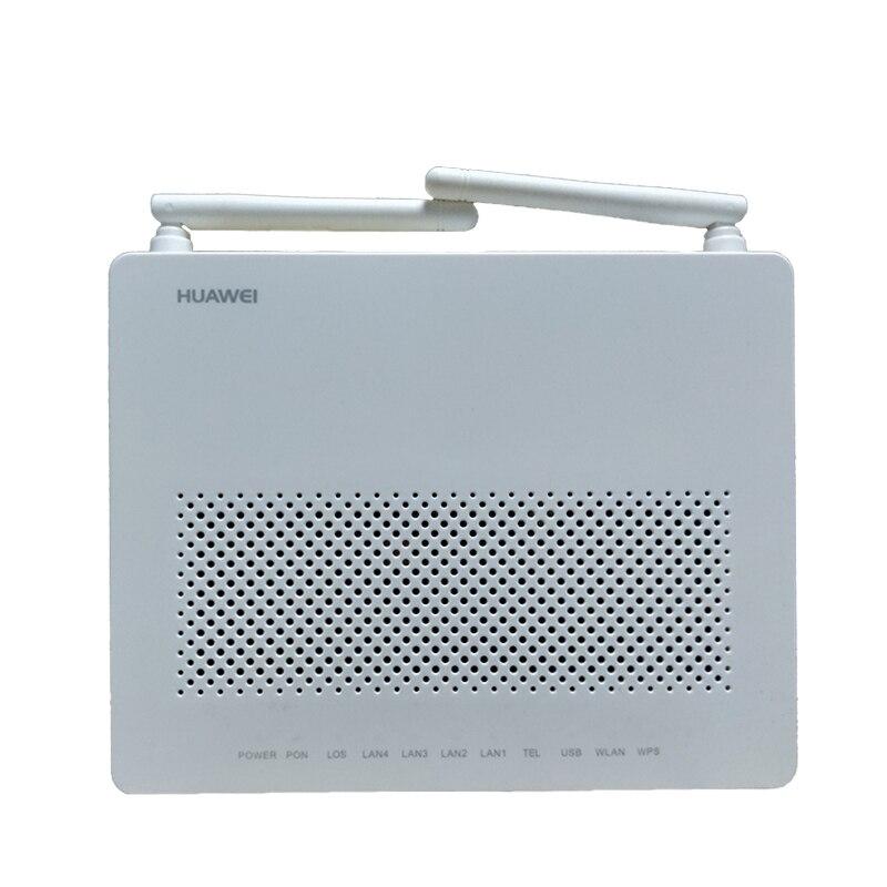 Utilisé Huawei GPON ONU HG8546M ONT termianl avec 1GE + 3FE + voix + wifi logiciel anglais
