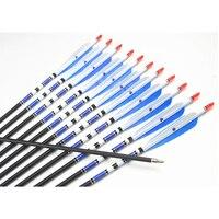 Real Turkey Feather Fletch Carbon Arrows 31 8 Mm Carbon Archery Arrow Spine 500 Hunting Archery