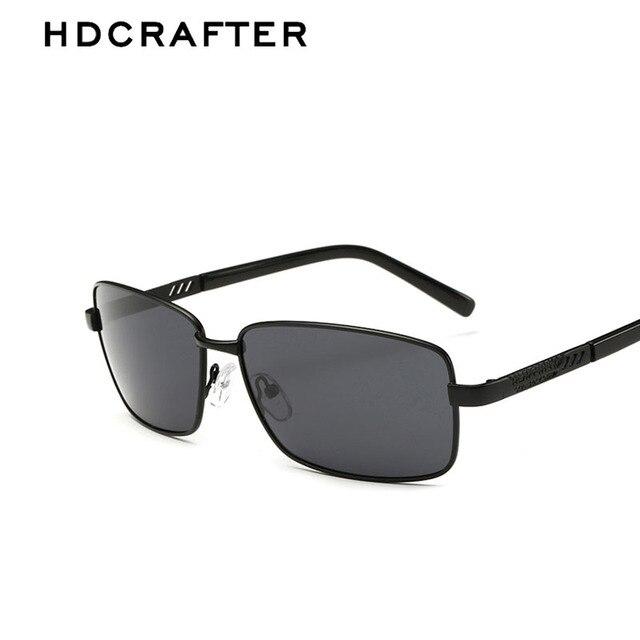 HDCRAFTER Metal Frame Brand Designer New Polarized Men's Sunglasses 4 Color Sun Glasses Men Driving Sunglasses