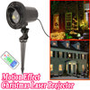 Christmas Lights Laser Projector Outdoor New Year Decoration For Home Red Green Laser Mix Moving Effect