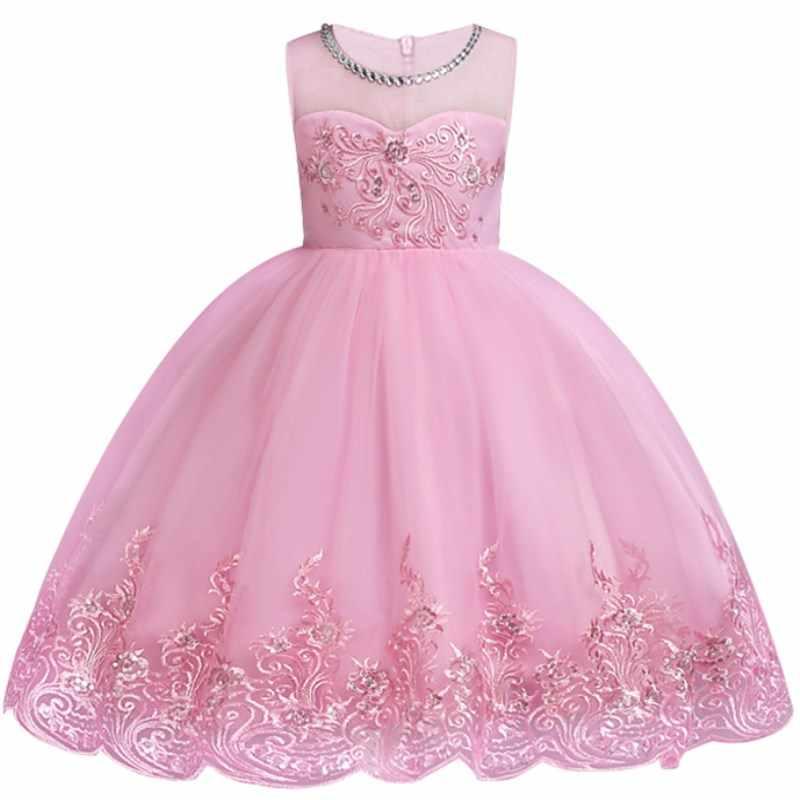 fa9949086bf2 ... Baby Embroidered Formal Princess Dress for Girl Elegant Birthday Party  Dress Girl Dress Baby Girl Christmas ...