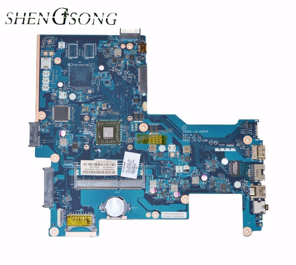 764264-001 Free Shipping laptop motherboard 764264-501 for hp 15-G motherboard ZS051 LA-A996P A4-6210 CPU 100% test ok 764269 501 764269 001 free shipping for hp 15 g laptop motherboard zs051 la a996p rev 40 mainboard 100
