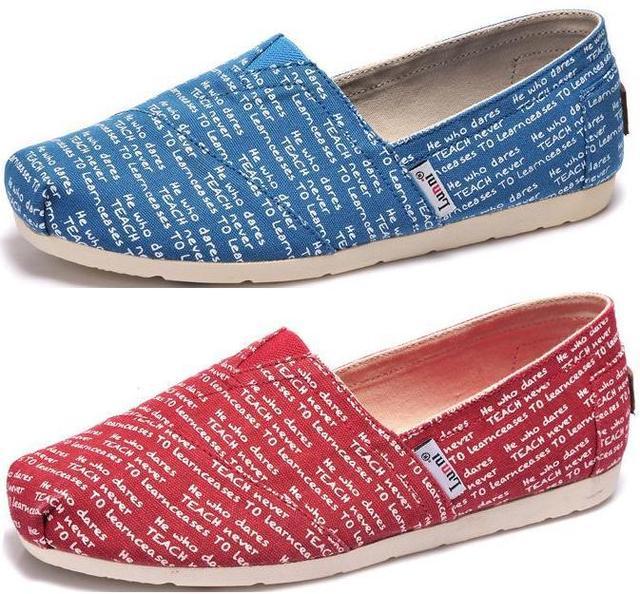 7d6bc55f97c 2015 LUNNI women s casual shoes Girl Ladies classic canvas shoes Soft fashion  cartoon canvas shoes