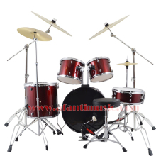 5 Drums 4 Cymbals / Purple color / Afanti Music Jazz Drum Set / Drum kit (AJDS-435)