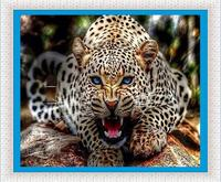 Full Diamond Embroidery Leopard Picture Diy 5d Diamond Painting Mosaic Diamond Gift Needlework Cross Stitch Home