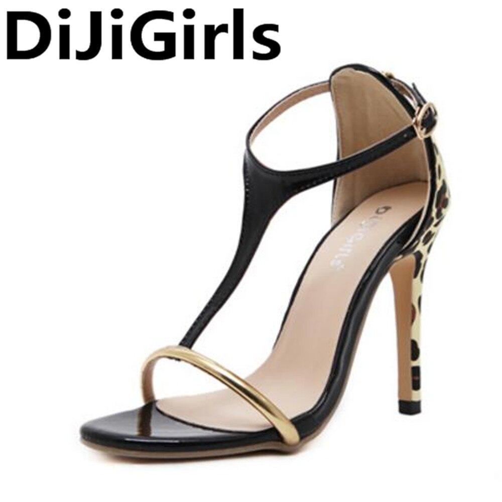 DiJiGirls Women Pumps  T-strap Peep Toe High Heels Summer Shoes Women Wedding Shoes Fashion Sexy Buckle Shoes рюкзак nova tour hunterman медведь 80 v3 khaki