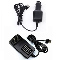 AC DC Home Travel Charger Car Charging Cord Power Adapter For ASUS Transformer Vivo Tab RT