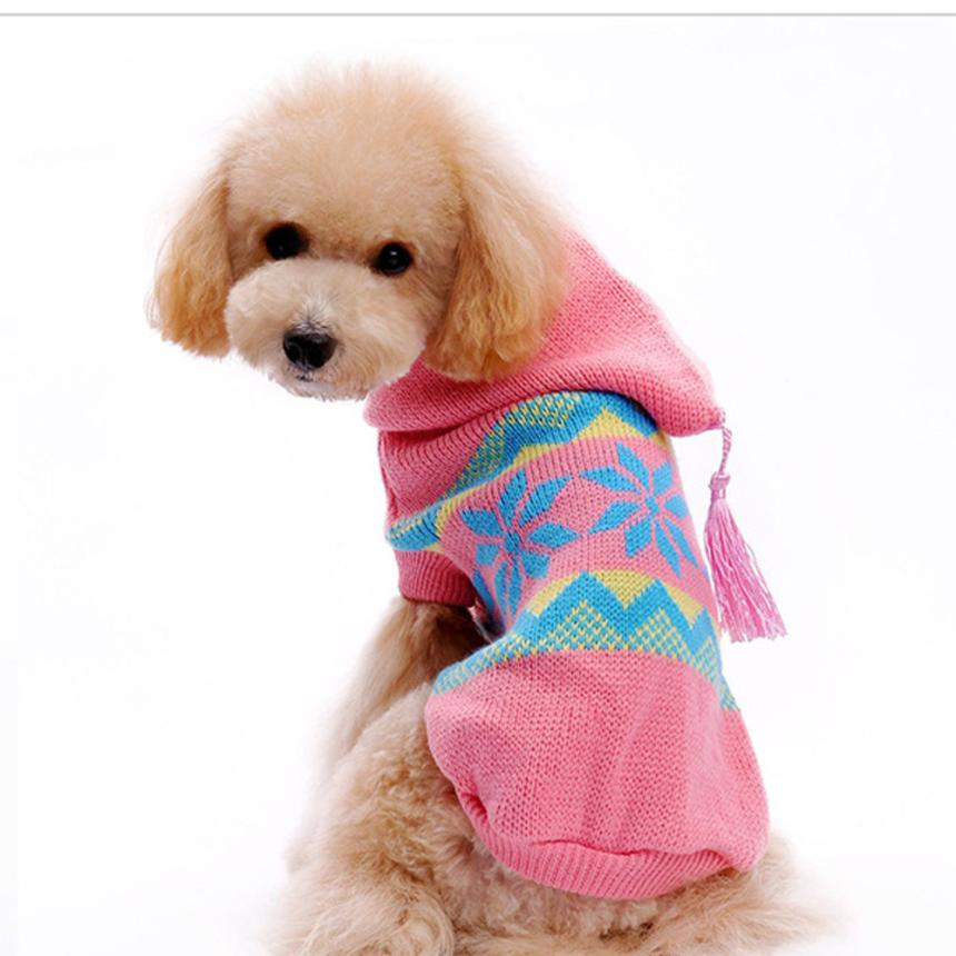 show how to crochet dog sweater