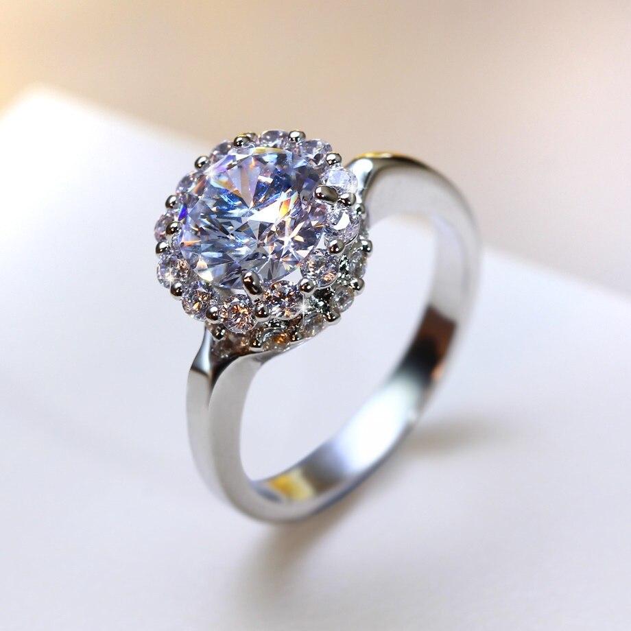 Best Petite Wedding Jewelry Propose rings Women Cubic Zirconia