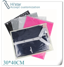 30*40cm 20 pieces Transparent Waterproof Vacuum Seal Bags Moble Bra Shoes Organize Travel Cosmetics Plastic Storage Bags(China (Mainland))
