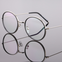 Reading Eyeglasses Optical Glasses Frames Glasses Women Male New Cat Eye Frame Ultra Light Frame Clear Glasses Round 17055
