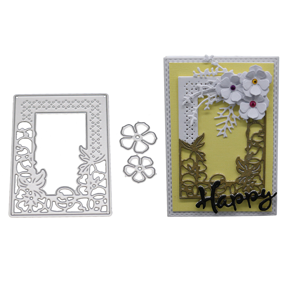 Ju Metal Cutting Dies Stencil DIY Scrapbooking Album Paper Card Embossing Craft