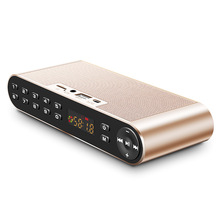 Itek Portable Wireless Bluetooth HiFi Speaker Subwoofer LED Display Pocket Speakers with Mic Support Hands-free TF Card FM Audio