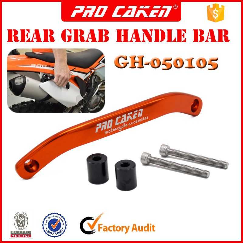 CNC Rear passenger grab rail Handle for KTM SX SX-F EXC XC-W XC-F EXC-F 125 200 250 300 350 450 500 motocross dirt bike parts цена
