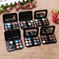 10.7*7.6*1CM Add fresh color to your face 12 Colors Pro Eyeshadow Palette Cosmetic Brush Mirror Makeup Set Anne