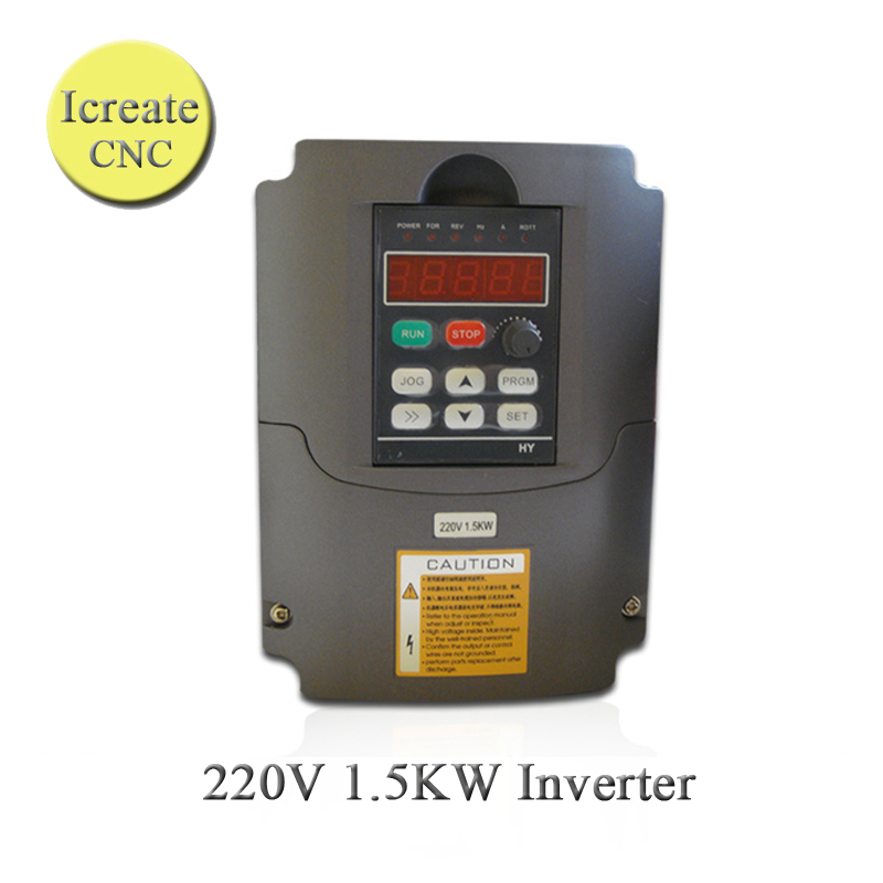Free Shipping 1.5KW VFD HY Invertor VFD 3-phase Inverter 220V 7A Inverter Variable Frequency Drive VFD 1500W 3phase Invertor 9 v7 inverter cimr v7at25p5 220v 5 5kw 3 phase new original