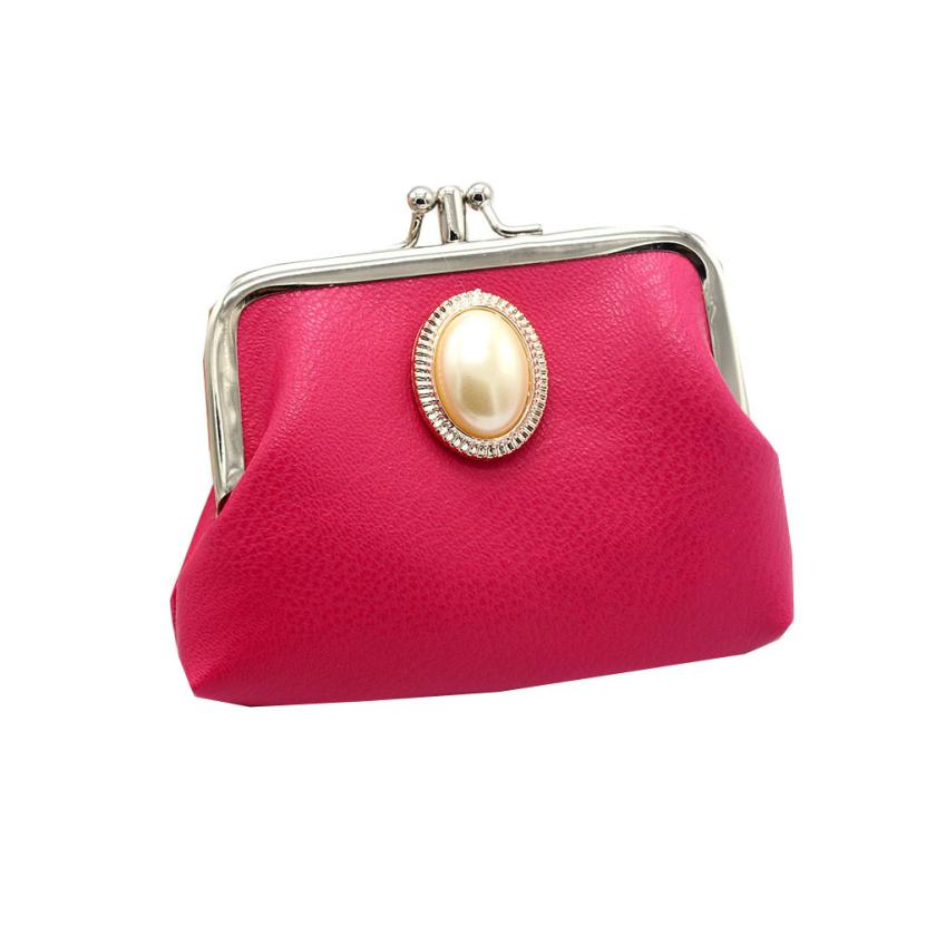 цены  Coin Purse Women Girls Lady PU Leather Hasp Small Wallet Change Pouch Key Card Holder Clutch Handbag Dropshipping LP