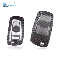 Airspeed Real Carbon Fiber Car Key Case Key Shell Cover for BMW X3 F25 X4 F26 M5 M6 3GT 5GT 1 2 3 4 5 6 7 Series Car Accessories