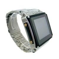 Bluetooth Умные часы Высокое качество Водонепроницаемый Нержавеющаясталь Смарт-часы mp3 mp4 мобильный телефон Android Поддержка sim-карты