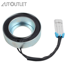 цены AUTOUTLET Air Conditioning Compressor Magnetic Clutch Coil 1854272 09118281 1618329 for OPEL Astra G H Zafira A B Corsa C