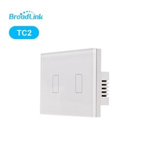 Image 4 - Broadlink TC2 1 2 3 สมาร์ทหน้าแรก WiFi สวิทช์ไฟ 170 240 V แผงกระจก Touch Switch รีโมทคอนโทรลโดย RM03 RM Pro