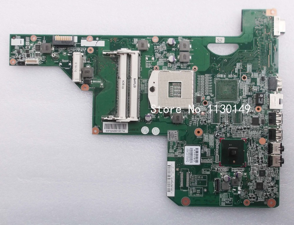 605903-001 Free shipping board for HP G62 laptop motherboard with hm55 chipset 100% test OK