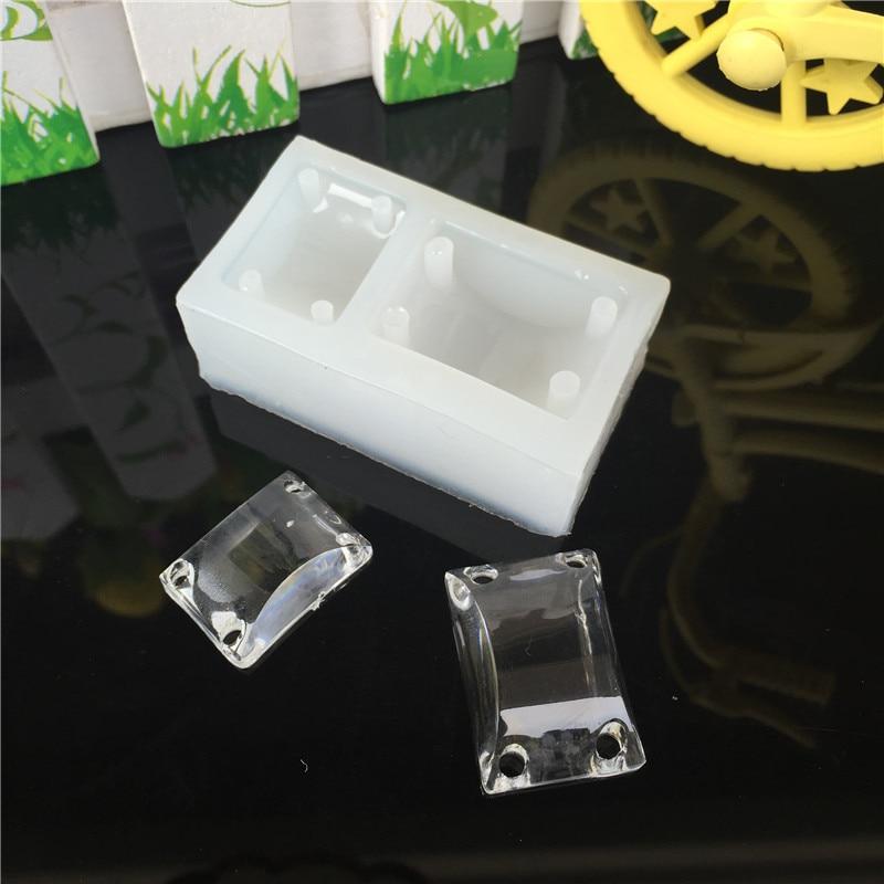 095c9c618ac8 stunning cristal agujeros pulsera molde epoxi resina joyera colgante pulsera  hacer herramienta rectngulo cabochon moldes de resina para joyera en moldes  de ...