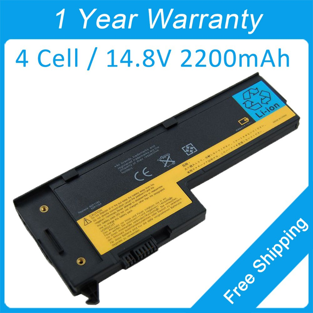 2200 Mah Batterie Dordinateur Portable Pour Lenovo Thinkpad X60s