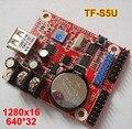 Мини-карта TF-SU P10 СВЕТОДИОДНЫЙ дисплей платы управления, небольшой USB контроллер драйвер флэш, P10 СВЕТОДИОДНЫЙ модуль управления картой