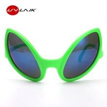 UVLAIK Funny Alien Eyes Sunglasses Men Costume Mask Novelty Glasses Women Party